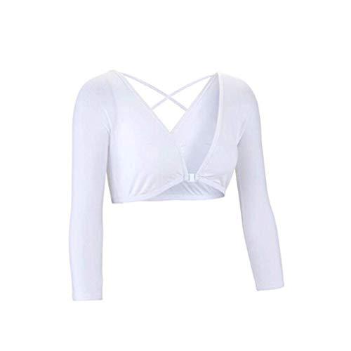 MA87 Beide Seiten Frauen Tragen Schiere Plus Size Nahtlose Arm Shaper Pflanzliche Top Hemdblusen