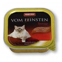 Animonda vom Feinsten Senior mit Lamm 100 g , Futter, Tierfutter, Nassfutter für Katzen