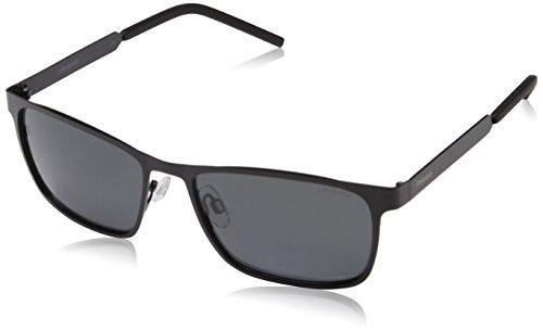 Polaroid Unisex-Erwachsene PLD 2047/S M9 003 57 Sonnenbrille, Schwarz (Matt Black/Grey Pz)