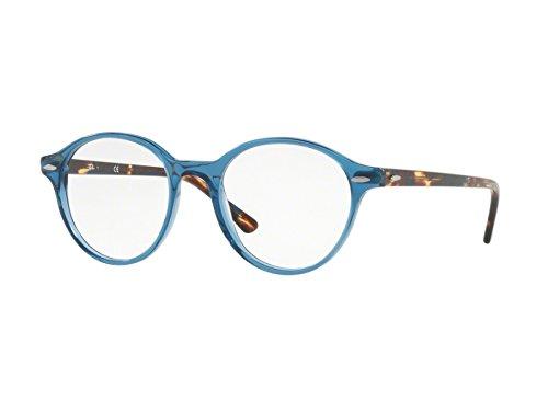 Ray-Ban Unisex-Erwachsene Brillengestelle 7118 Schwarz (Negro), 50