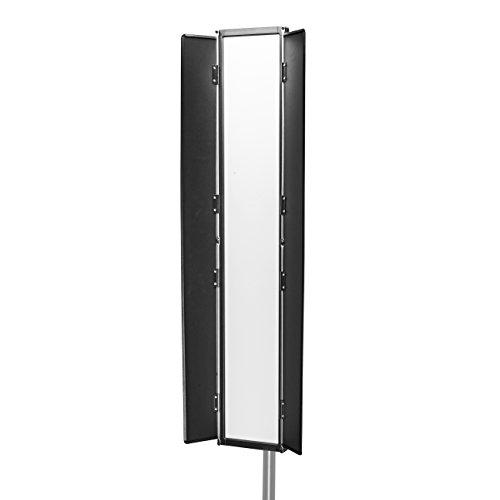 Walimex Pro Soft LED 800 Bi Color Flat Flächenleuchte, 80 Watt schwarz
