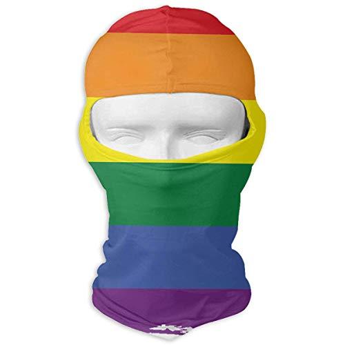 Jxrodekz Regenbogen-Stolz-Flagge Motorcyle-Gesichtsmaske-Multifunktionssport-Magie Headwear