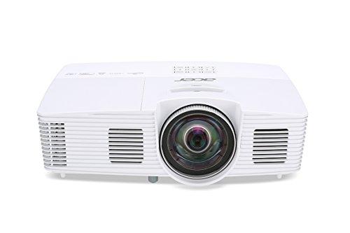 Acer S1283HNE Proiettore, Risoluzione XGA, Contrasto 13.000:1, Luminosità 3.100 ANSI, VGA/HDMI/MHL, Durata Lampada 4.000 h, Speaker, DLP 3D, Ethernet, Bianco