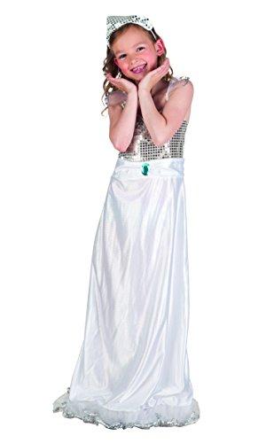 Französischen Adel Kostüm - Kinderkostüm 82202 - Prinzessin, weiß