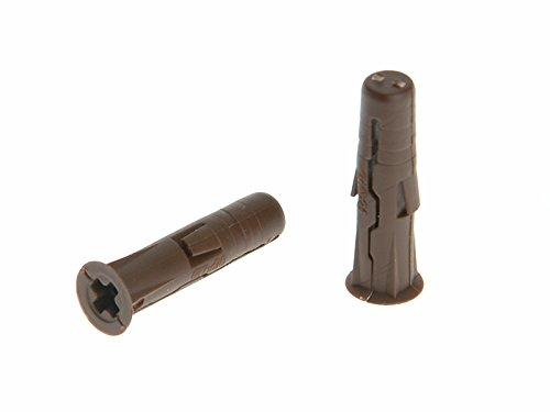 rawlplug-68560-7-x-30-mm-uno-plug-card-brown-96-pieces