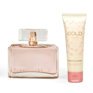 Roberto Verino Gold Bouquet gift set (50 ml eau de parfum + 50 ml shower gel)
