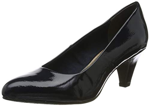 Tamaris Damen 1-1-22416-23 Pumps, Blau (Navy Patent 826), 40 EU