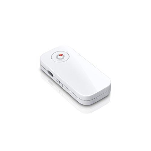 Oehlbach BTR 4.2 Bluetooth Adapter | 2 in 1 - Sender & Empfänger | Toslink und Klinke für analoge und/oder Digitale Signale | weiß Analoge Sender