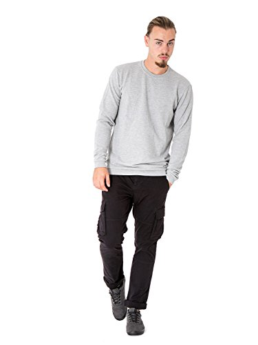 ONLY & SONS - Homme pantalons avec poches latérales stone cargo black Noir