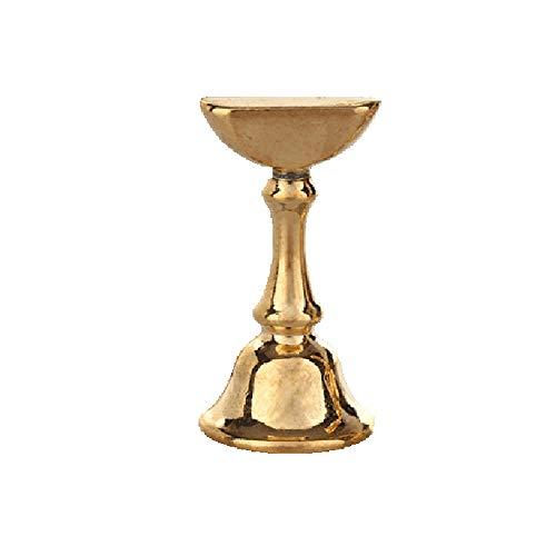 Nägel Salon Werkzeug gaddrt Nagelbasis Falsche Nagel-Spitzen-Praxis-Ausstellungsstand-Halter-magnetische Maniküre-Nagel-Salon-Werkzeug (Gold)