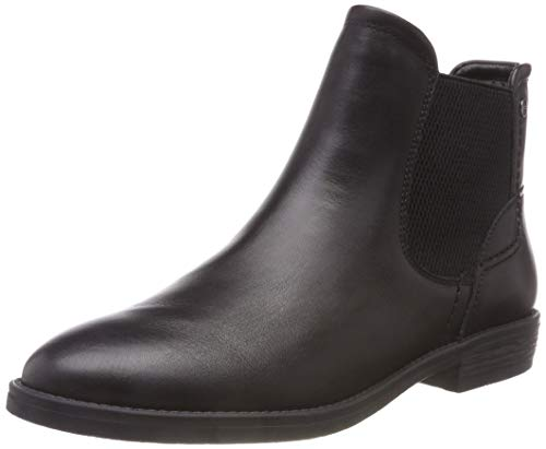 Tamaris Damen 25306-21 Chelsea Boots, Schwarz (Black 1), 37 EU