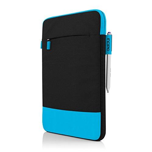 Incipio Asher vertikale Tasche für Microsoft Surface 3 - von Microsoft zertifizierte 2-farbige Nylon-Schutztasche inkl. Außentasche - schwarz/rot schwarz/blau