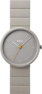 Braun BN0171BKBKG - Reloj, Correa de cerámica