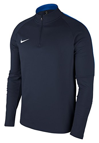 Nike Herren Dry Academy 18 Drill Football Top Long Sleeved T-Shirt, Black/Anthracite/White, L -