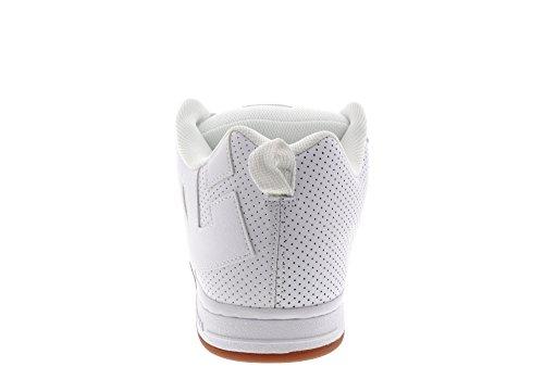 DC  Court Graffik, Sneakers Basses homme White White Gum