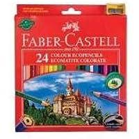 Faber Castell 120124 Matite Colorate, Confezione 24