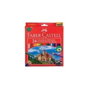 Faber Castell 120124 Colored Pencils, Pack 24