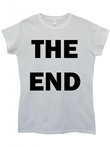 The End Game Over Movie Cool Funny Hipster Swag White Weiß Damen Women Top T-Shirt Weiß