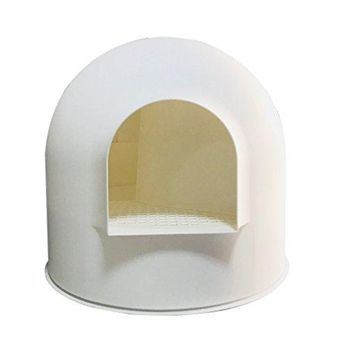 Lh Katzentoilette Große Geschlossene Katze Toilette Deodorant Katzenstreu Einzige Katze Schüssel...