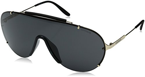 Carrera Herren 129/S P9 J5G Sonnenbrille, Gold/Grey, 99