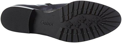 Gabor Shoes Fashion, Stivali da Equitazione Donna Blu (river 36)