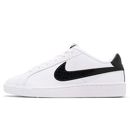 Nike Damen WMNS Court Royale Gymnastikschuhe, Weiß (White/Black 111), 36.5 EU - Schuhe Nike Vintage Frauen