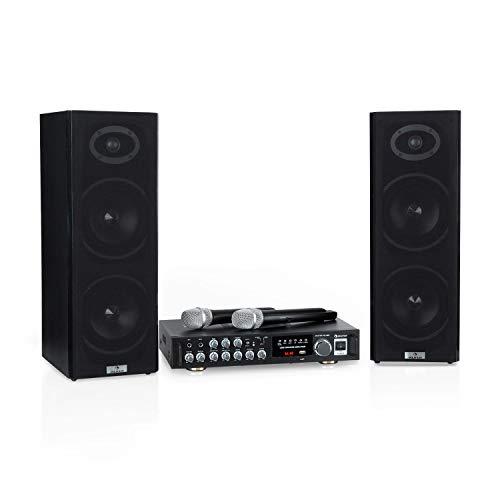 Auna Karaoke Star 4 Karaoke-Set • Sistema Karaoke • Impianto Karaoke •...