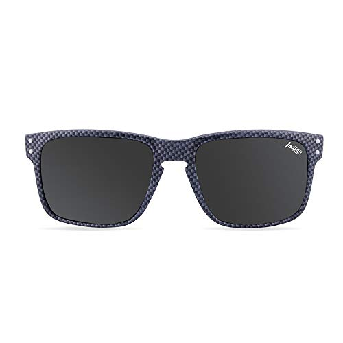 THE INDIAN FACE Unisex-Erwachsene Sonnenbrille Freeride Spirit Carbon Fiber, Schwarz, 55