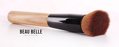 Beau Belle Contouring Pinceau - Angled Brush - Contour Brush - Contour Pinceau - Pinceaux Maquillage - Pinceaux Contouring Pro - Pinceaux Maquillage Professionnel - Contouring Brush - Pinceaux Maquillage Teint - Foundation Brush - Contouring Brosse - Pinceau Contouring Pro - Pinceau Poudre - Makeup Brushes - Make Up Brushes - Pinceau Contour Brush