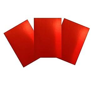Casa di carta e cartoncino carta A4240g/mq, colore: Rosso (confezione da 30fogli)