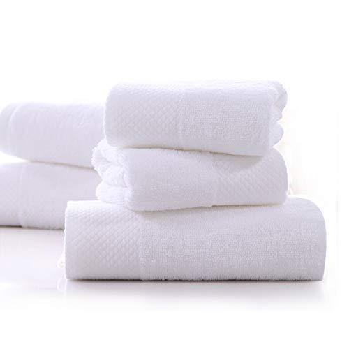 Grenze Waschlappen (VANWEIDI Premium, Luxus Hotel & Spa Qualität Badetücher Baumwolle für Super Saugfähig & Extra Weich-Stärke & Flauschig-3-Teiliges Badezimmer Handtücher-1Badetuch, 1Handtuch, 1Waschlappen)
