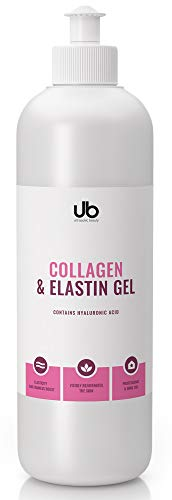 UB Gel mit Kollagen & Elastin - Konzentriertes Serum | Spendet Feuchtigkeit und Polstert Auf | Zur Verbesserung der Effektivität von Schönheitsbehandlungen 500 mL