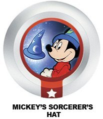 es 3 Power Disc Mickey's Sorcerer's Hat (from Fantasia) by Disney Interactive Studios (Mickey Hats)