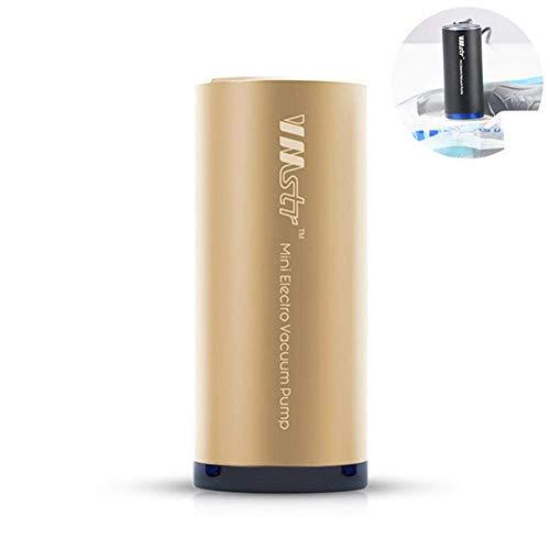 Luminiu Mini Vacuum Sealer Machine, Elektrische Mini USB Vakuumpumpe Lebensmittel Frische Reise Vakuum Aufbewahrungsbeutel, Große Raumwunder Taschen Für Kleidung Reisen Und Zuhause Usb Mini Vacuum
