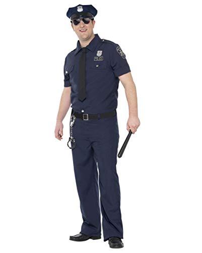 Polizei Uniform Kostüm Plus Size | für Herren XL