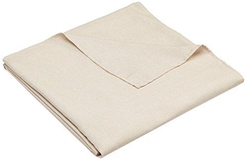 Zebra textil 21463, copridivano beret con ottomana a sinistra, bianco