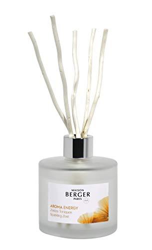 LAMPE BERGER Aroma Bouquet Parfumé, Glas, Weiß, 180ml / 21cm -