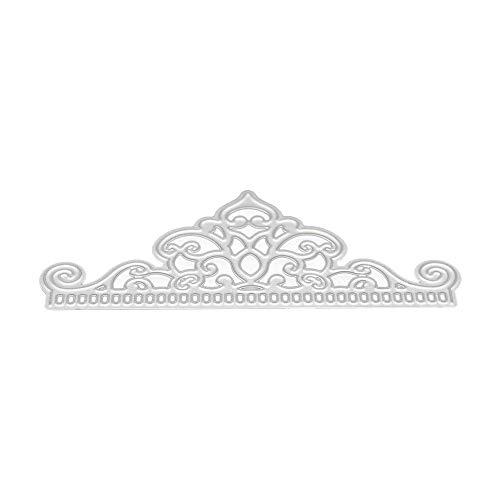 JiaMeng DIY Plantilla del Alfabeto Troqueles de Corte de Metal de Coraz¨®n de Flor Metal Arte de Papel de Scrapbooking de Bricolaje