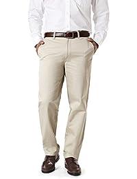 Modo Formal Chinos For Men Cream Trouser Regular Fit, 100% Cotton Formal Trousers For Men