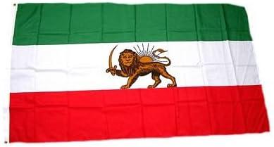 Fahne / Flagge Iran Royal mit Löwe 90 x 150 cm Flaggen [Misc.]