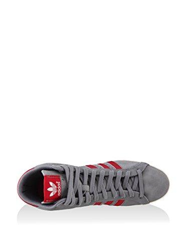 adidas - Basket Profi, - Uomo Grigio/Rosso