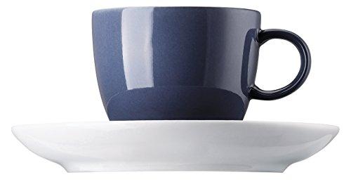 Thomas 10850-408545-14720 Sunny Day Nordic Blue Espresso-/Mokkatasse 2tlg. (1 Obertasse/1 Untertasse)