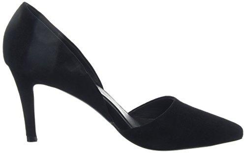 Sofie Schnoor Suede Stiletto, Chaussures à talons - Avant du pieds couvert femme Noir - Noir