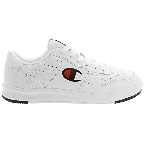 Champion RLS Leather Low Cut Shoe Men White, Größe:43 - Champion Sportschuhe