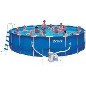 Frame Pool Set Rondo IV 549 x 122 (549 x 122 cm, blau)
