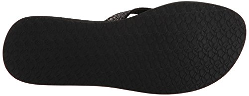 Reef Damen Star Cushion Sassy Black/Bronze Zehentrenner Mehrfarbig (Black/Bronze)