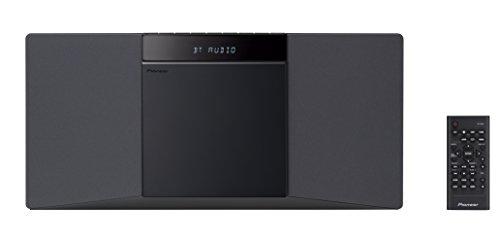 Pioneer X-SMC02D(B) Schlanke CD-Mikroanlage (Bluetooth, USB, FM, CD, DAB) Schwarz