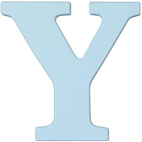 KidKraft-Lettera in legno, colore: blu cielo