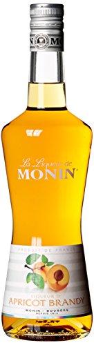 Monin Apricot Brandy Aprikose - Likör, 1er Pack (1 x 700 ml)