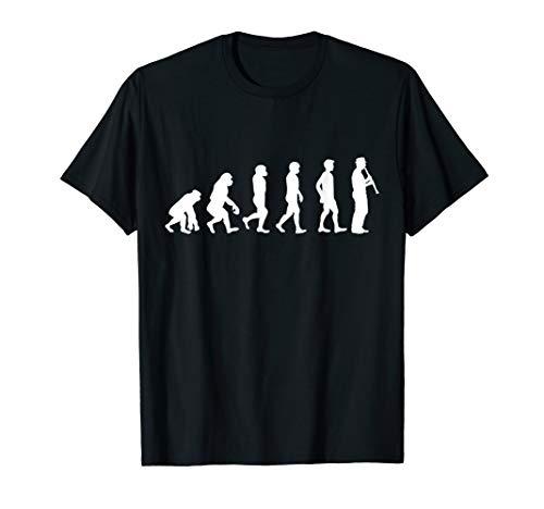 Evolution Klarinette T-Shirt für Klarinettisten